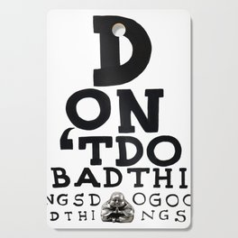 GOOD THINGS - Buddha quote Cutting Board