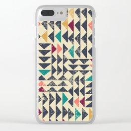 Trójkąt Sunrise Clear iPhone Case