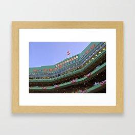 Fenway Park - Boston Red Sox Framed Art Print