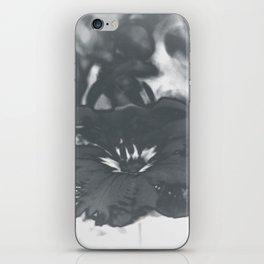 Bloom in Platinum Tone iPhone Skin