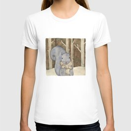 squirrel in the woods T-shirt