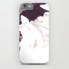 Fashion illustration in watercolors and ink Slim Case iPhone 6s