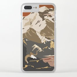 National Parks 2050: Denali Clear iPhone Case