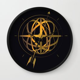 Armillary Sphere Wall Clock