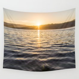 Sunrise on the Water in Costa Rica Wall Tapestry