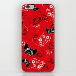 Video Game Red iPhone Skin