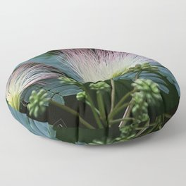 Mimosa Blossoms Floor Pillow