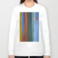 france Long Sleeve T-shirts featuring France by Louvretta