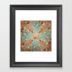 Copper Autumn Framed Art Print