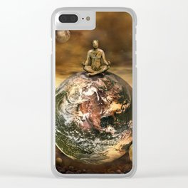 Master of the World Clear iPhone Case