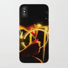 Light Wheel iPhone X Slim Case