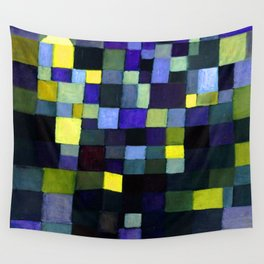 Paul Klee Architecture Wall Tapestry