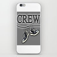 animal crew iPhone & iPod Skins featuring Crew by Cs025