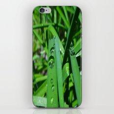 Water droplets iPhone & iPod Skin