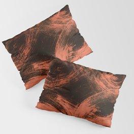Kleinspir, Abstract, Orange Flamengo Pillow Sham