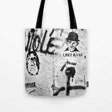 LISEZ KAFKA - Paris/France Tote Bag