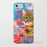 garfield iPhone & iPod Cases featuring Goddamn it Garfield  by Zarl