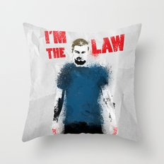 I'm the Law Throw Pillow
