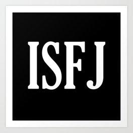 ISFJ Art Print