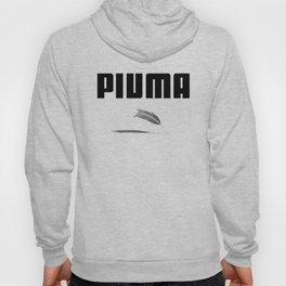 Piuma - Feather. Live light as a feather Hoody