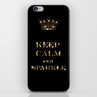 keep calm iPhone & iPod Skins featuring Keep calm by UtArt