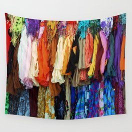 Gypsy Rags and Ruffles Wall Tapestry