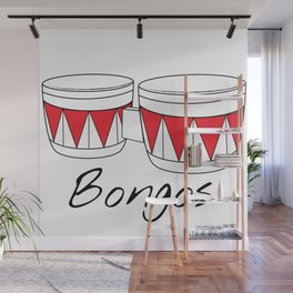 Bongos Wall Mural