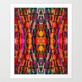 For the World Sugarcane - Alicia Jones - Pattern Art Print
