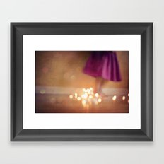 The magic hour Framed Art Print