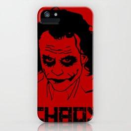 Joker Chaos iPhone Case