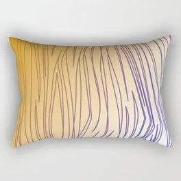 design lines gold tiger elements Rectangular Pillow