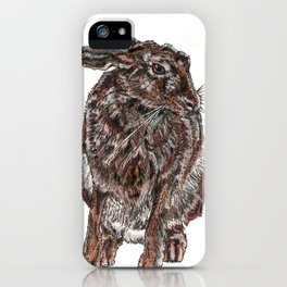 Hare iPhone Case