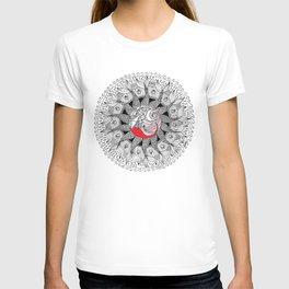 mermaid mandala T-shirt