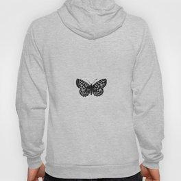 Minimalista borboleta 3 Hoody