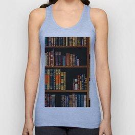 The Bookshelf (Color) Unisex Tank Top