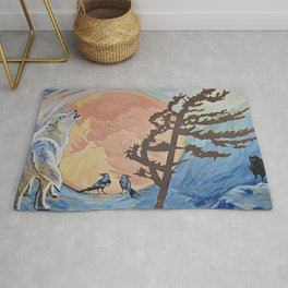 Rejoice; The Turning of the Sun Rug