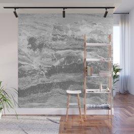 Real Gray Marble Wall Mural