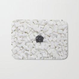Sugar cubes & Tiny Tiny Camera Bath Mat