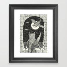 'Tower Window' Framed Art Print