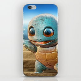 Realistic Squirtle iPhone Skin
