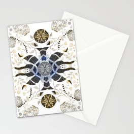 Earth River Honor and Power Mandala Stationery Cards