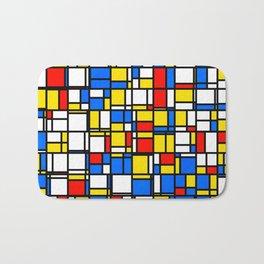 Mondrian Style 2 Bath Mat
