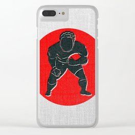 Rugby R Clear iPhone Case