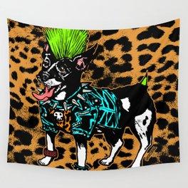 Punk Dog Wall Tapestry