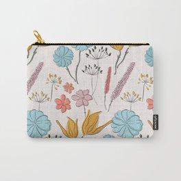 Summer flower print Carry-All Pouch