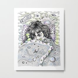 Napping In... The Twilight Zone Metal Print