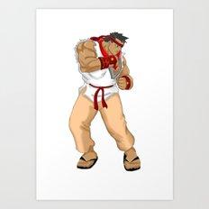 Street Fighter Andres Bonifacio Art Print