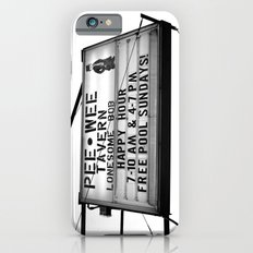 Pee Wee tavern sign iPhone 6s Slim Case