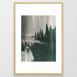 La Llorona en el Rio Grande Framed Art Print
