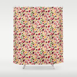 Scatter Leaves Shower Curtain